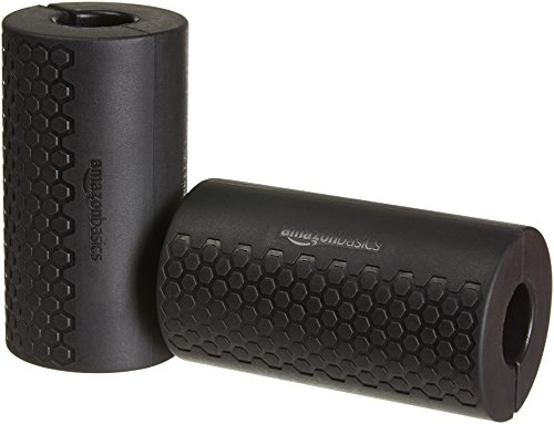 AmazonBasics Thick Dumbbell and Barbell Grips, L4.8xW5.3xH2.6 inches