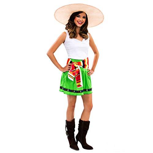 Morph ompal20353s mexikanischen Seniorita Kostüm, Frauen, grün, klein