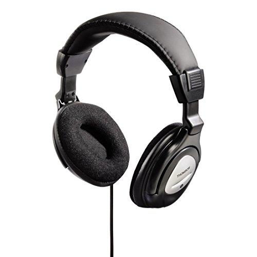 Thomson HiFi Stereo Over-Ear Kopfhörer HED415N Headphones 3,5mm 6,35 Klinke 40mm