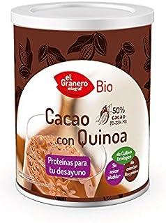 CACAO SOLUBLE BIO con QUINOA 200g de producto en polvo desgrasado – EL GRANERO INTEGRAL