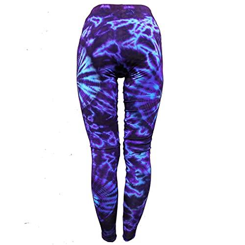 PANASIAM Leggings batik2, CS02 Purple Tones, M