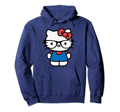 Hello Kitty Distressed Nerd Glasses