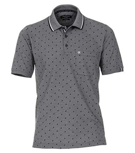 Casa Moda Poloshirt Print blau 993106200 105, Größe L