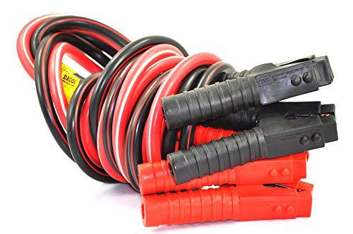 XINCOL G5 Câbles 100% cuivre Câbles de Démarrag pour des Voitures/fourgons/Grands camions,2500A 4M