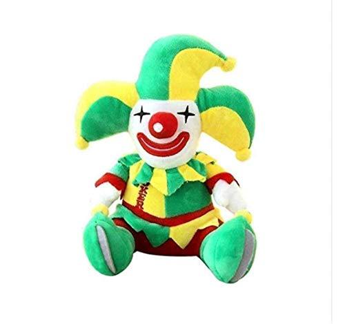 FGBV Plüschspielzeug Plüsch Puppe Zirkus Clown Kid Plüschtier Halloween Puppe 48cm Spielzeug Manmiao