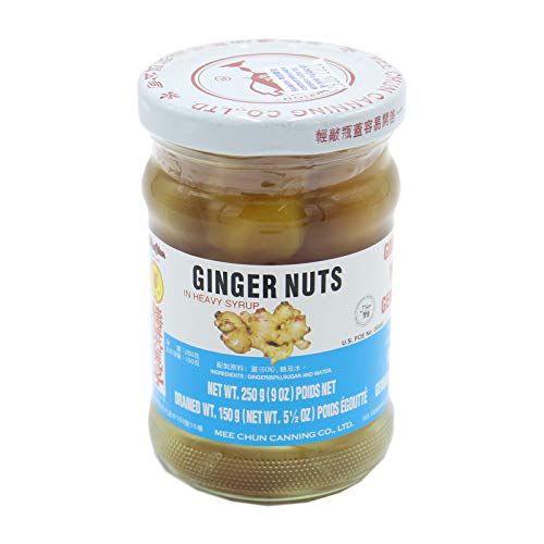 Mee Chun Ingwerkugeln (Ingwernüsse) in Sirup Ginger Nuts 250g (ATG150g)
