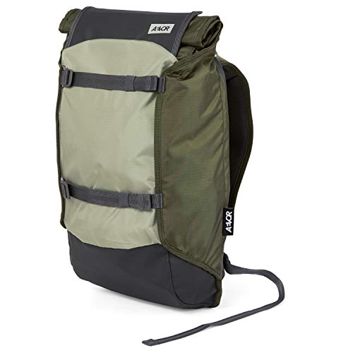 AEVOR Unisex– Erwachsene Trip Back Rucksack, Olivgrün, 31x18x50cm