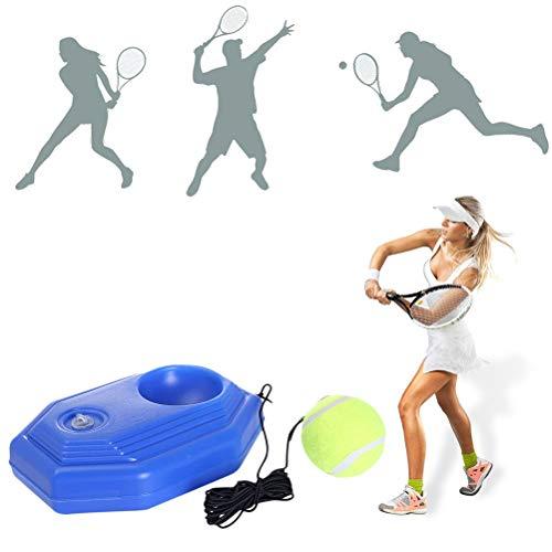 FFOMG Allenatore di Attrezzi da Tennis Esercizio Retrattile Comodo Palla da Tennis Palla da Rimbalzo autodidatta Allenatore di Tennis, Allenamento di Tennis è diventato Molto più Facile