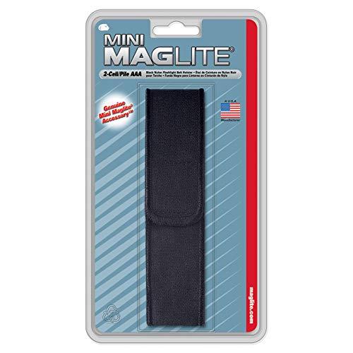 Maglite Etui nylon pour lampe super Mini R3 Noir