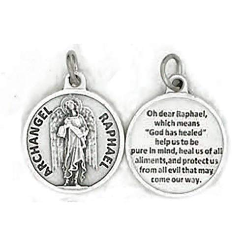 Archange Raphael Arcangel Rafael Charme Argent Sterling .925