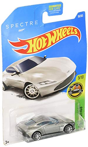 Hot Wheels 2017 HW Exotics James Bond 007 Spectre Aston Martin DB10 96/365, Silver
