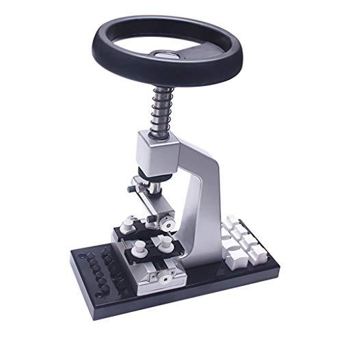 Baoblaze Profi Uhrenwerkzeug Tisch Uhrwerk-Reparatur-Set Uhr Rückseite Öffner Set 5700# für Uhrengehäuseöffner und -schließer - Legierung Basis