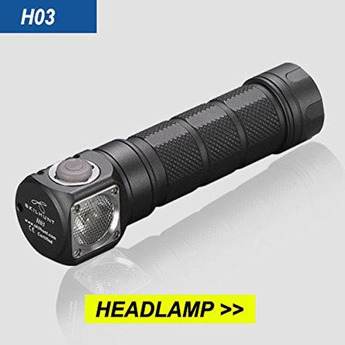 Skilhunt H03XM-L21200LM TIR Lens EDC LED Taschenlampe Lampe Headlamp