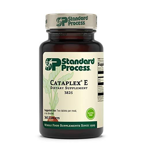 Standard Process Cataplex E - Whole Food RNA Supplement and Antioxidant with D-Alpha Tocopherol Vitamin E, Beet Root, Ascorbic Acid, Inositol, Selenium, and Honey - 360 Tablets