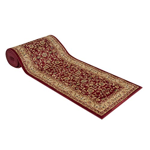 Marash Luxury Collection 25' Stair Runner Rugs Stair Carpet Runner with 336,000 Points of Fabric Per...