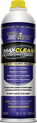 Royal Purple 11722 Max Clean Fuel Synthetic Cleaner-20 Oz, 6 pack