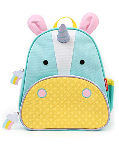 "Skip Hop Toddler Backpack, 12"" School Bag, Unicorn"