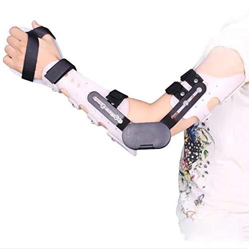 QLT BETY Fractura de Brazo Férula Fija Esguince de muñeca Codo Articulación de Protector Férula Miembro Superior Órtesis Ajustable ⭐