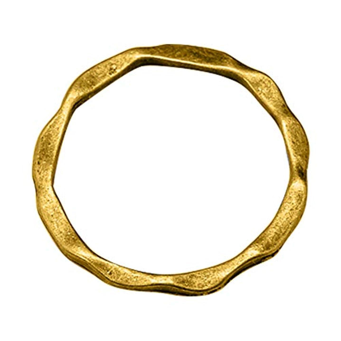 PH PandaHall 500pcs Alloy Linking Rings Antique Golden Circle Frames Tibetan Style Ring Circle Pendant for Necklace Dangle Earring Making