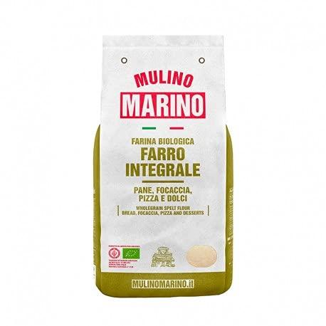 Farina Bio Di Farro Integrale 1 Kg - Mulino Marino