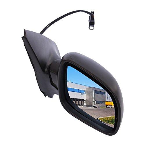 Außenspiegel Spiegel rechts asphärisch beheizbar blau getönt inneneinstellbar elektrisch schwarz