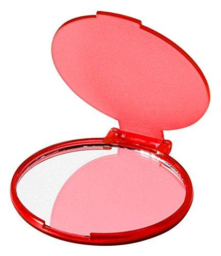 eBuyGB Compact Cosmetische Handtas Opvouwbare Pocket Vanity Spiegel Toiletruimte
