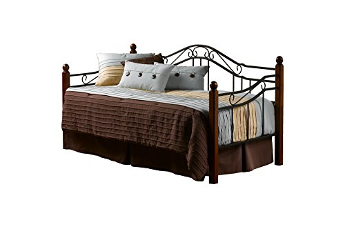 Hillsdale Furniture Hillsdale Madison Daybed, Twin, Black/Cherry