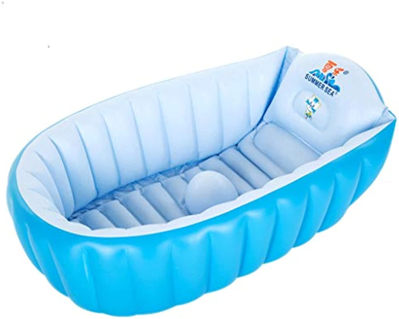 LJJOO Aufblasbare Badewanne, Baby Badewanne Groe verdickte Badewanne Neugeborenes Kind Badewanne Schwimmbad Badewanne