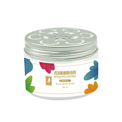 Huile essentielle végétale Crème anti-moustique Crème de citronnelle Gel anti-moustique Liquide anti-moustique Chambre à coucher maison Artefact anti-moustique (3 boîtes)