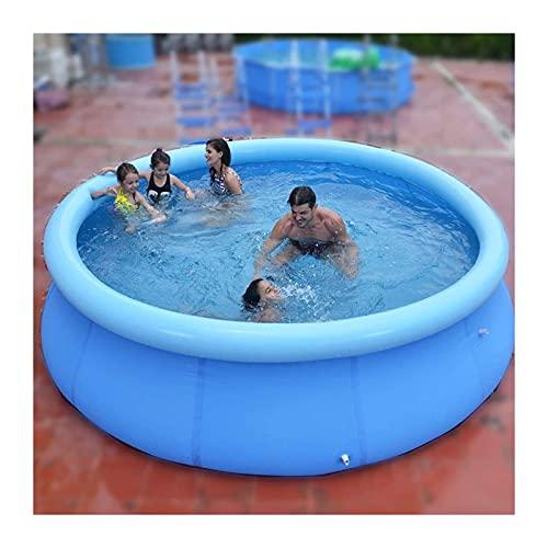 piscina hinchable jacuzzi Piscina Inflable Por Encima Del Suelo Para Niños, Adultos  Conjunto Rápido Piscinas De La Familia Redonda  al Aire Libre, Jardín, Patio Trasero, Fiesta De Agua De Ver