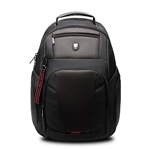 Mochila Backpack Impermeable Diseño De Marca Hombres Negro Gran Capacidad 15.6 Pulgadas Mochila para Computadora Portátil Mochilas para Niño Mochilas Masculinas Mejor Viaje Im Entrega Rápida Gratuita
