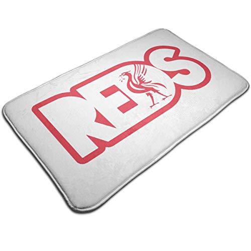 """Joy Wholesale Reds Liverpool Doormat 19.5"""" * 31.5"""" Non-Slip Stain Fade Resistant Area Rugs Door Mat Outdoor Indoor Mat"""
