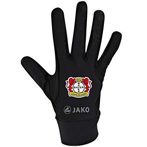 JAKO Bayer 04 Leverkusen Funktionshandschuhe, schwarz, 6