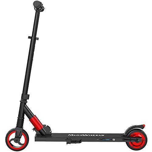 M MEGAWHEELS Scooter electrico, Patinete electrico es Ajustable la Altura para...