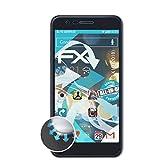 atFolix Schutzfolie kompatibel mit LG K10 (2018) Folie, ultraklare & Flexible FX Bildschirmschutzfolie (3X)