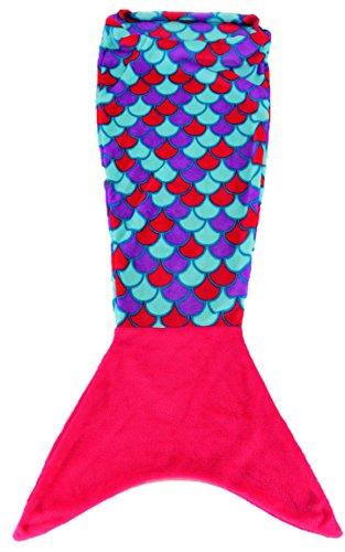 Bada Bing Decke Kuscheldecke Meerjungfrau Pink Kinder freundliche Mermaid Flauschige Deckel 57