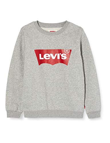 Levi's Kids Lvb Batwing Crewneck Maglione Bambino Grey Heather 10 anni