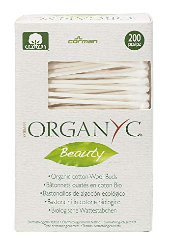 Organyc Beauty Organic Cotton Swabs - 200 Swabs by Organyc