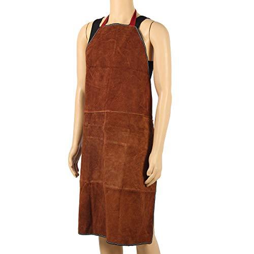 MJJEsports lassen schorten beschermende kleding thermische bescherming werkkleding leer 100X70CM, 4, 1