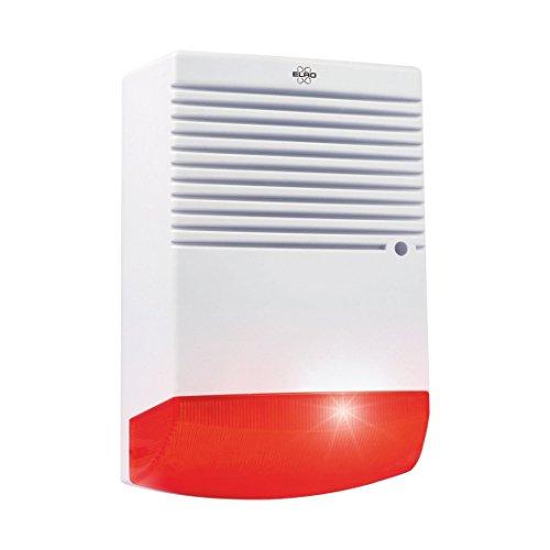 Elro ADS1F Sirena di Alarme con Luce Lampeggiante LED
