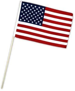 Fahne Flagge USA 30 x 45 cm mit Stab