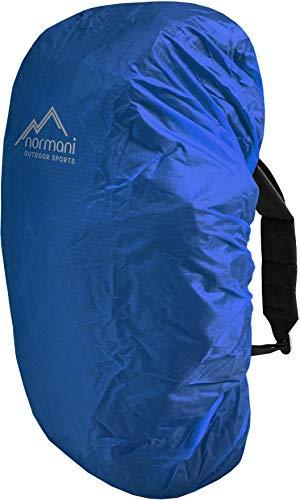 normani wasserdichter Regenueberzug Raincover Regenhülle für Backpacks Rucksack Farbe Blau Größe 20-35 Liter