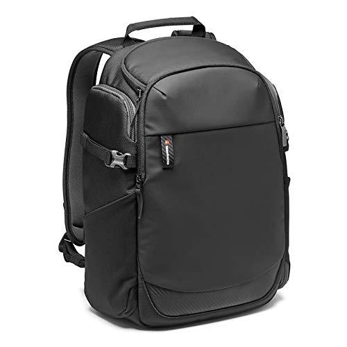 Manfrotto Zaino fotografico Advanced² Befree, per laptop 15', Accesso Posteriore, Tasca Espandibile per Treppiede da Viaggio, per DSLR/Mirrorrless/CSC/Obiettivo Standard e Drone-Nero-MB-MA2-BP-BFR