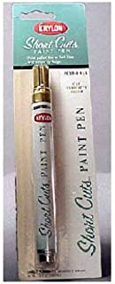 Krylon KSCP901 Short Cuts Paint Pen, Gold Leaf, .33 Ounce