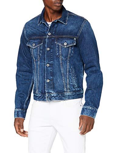 Pepe Jeans Pinner Giacca di Jeans, 000denim, L arge Uomo
