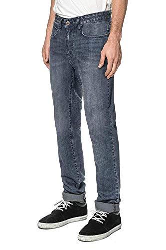 Globe GB01236003 Pantalons Homme, Bleu (Broke), 36