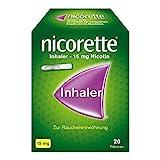 nicorette Inhaler 15 mg Nicotin zur Raucherentwöhnung Patronen, 20 St. Ampullen