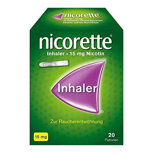 NICORETTE Inhaler mit 15 mg Nikotin – Rauchen aufhören – ersetzt bis zu 140 Zigaretten