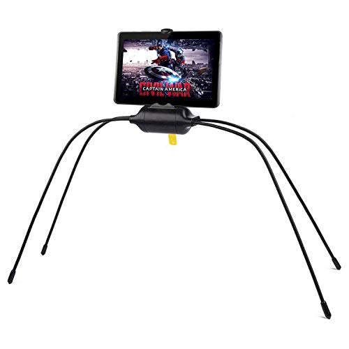 Allamp Tablet Holder for Bed,Newest Adjustable Stand for Tablet and Cell Phone,Universal Gooseneck Legs Smartphone Holder Stand for Bed,Sofa,Table or Any Smooth Surface
