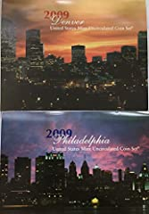 2009 US Mint set Comes in US Mint Packaging Brilliant Uncirculated Coins Includes all the Territories Quarters Makes Great Gift for Coin Collector